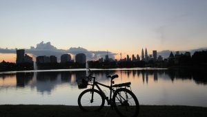Kuala Lumpur night cycling