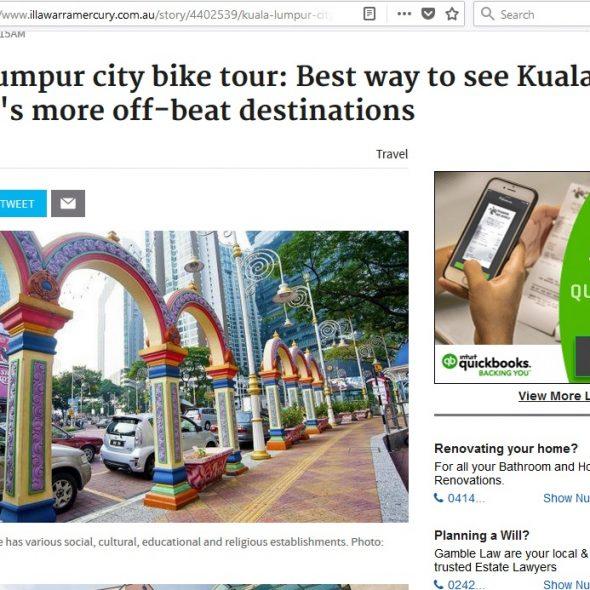 Kuala Lumpur city bike tour