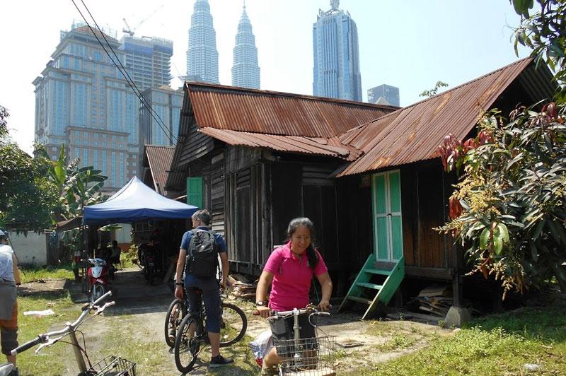 Kampung Baru cycle tour