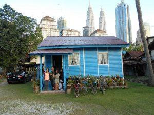 Kampung Baru Kuala Lumpur Guided bicycle tour