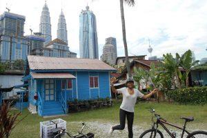 Guided bicycle tour in Kuala Lumpur