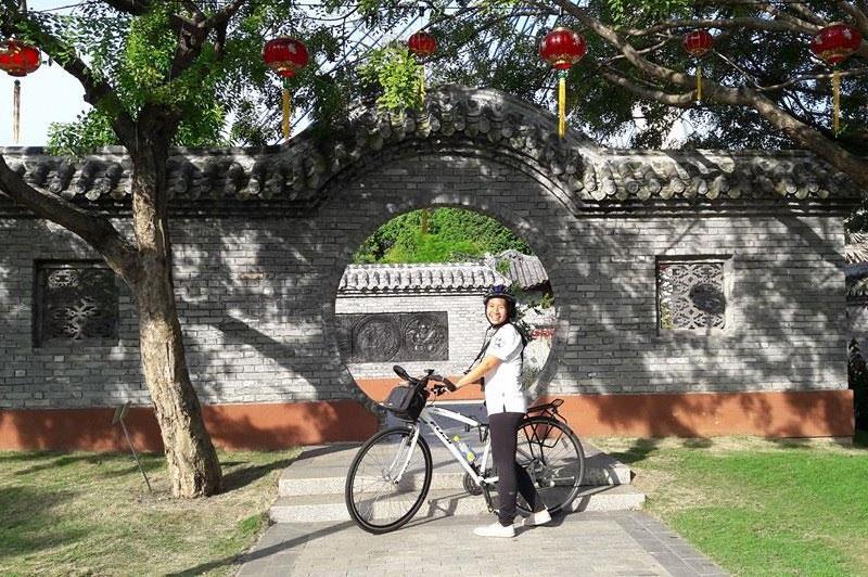 Guided cycle tour Putrajaya Malaysia