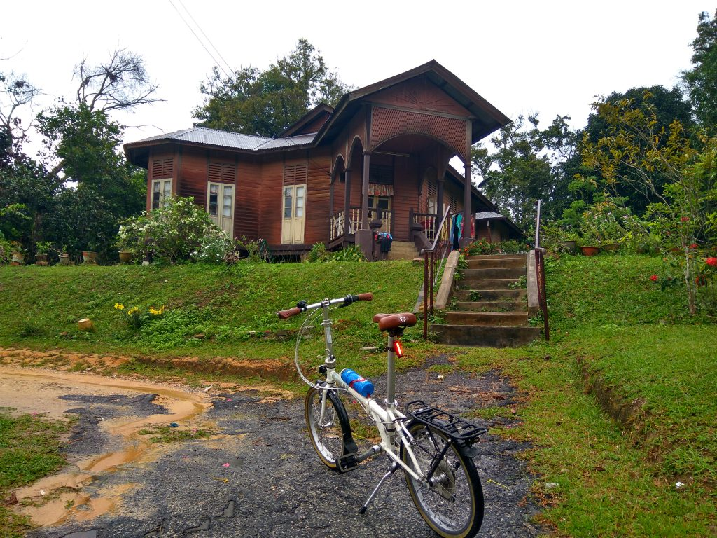 Guided bicycle tour Malaysia