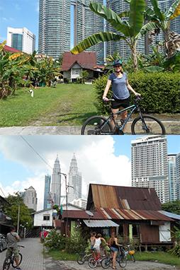 Guided cycling tours kuala lumpur malaysia